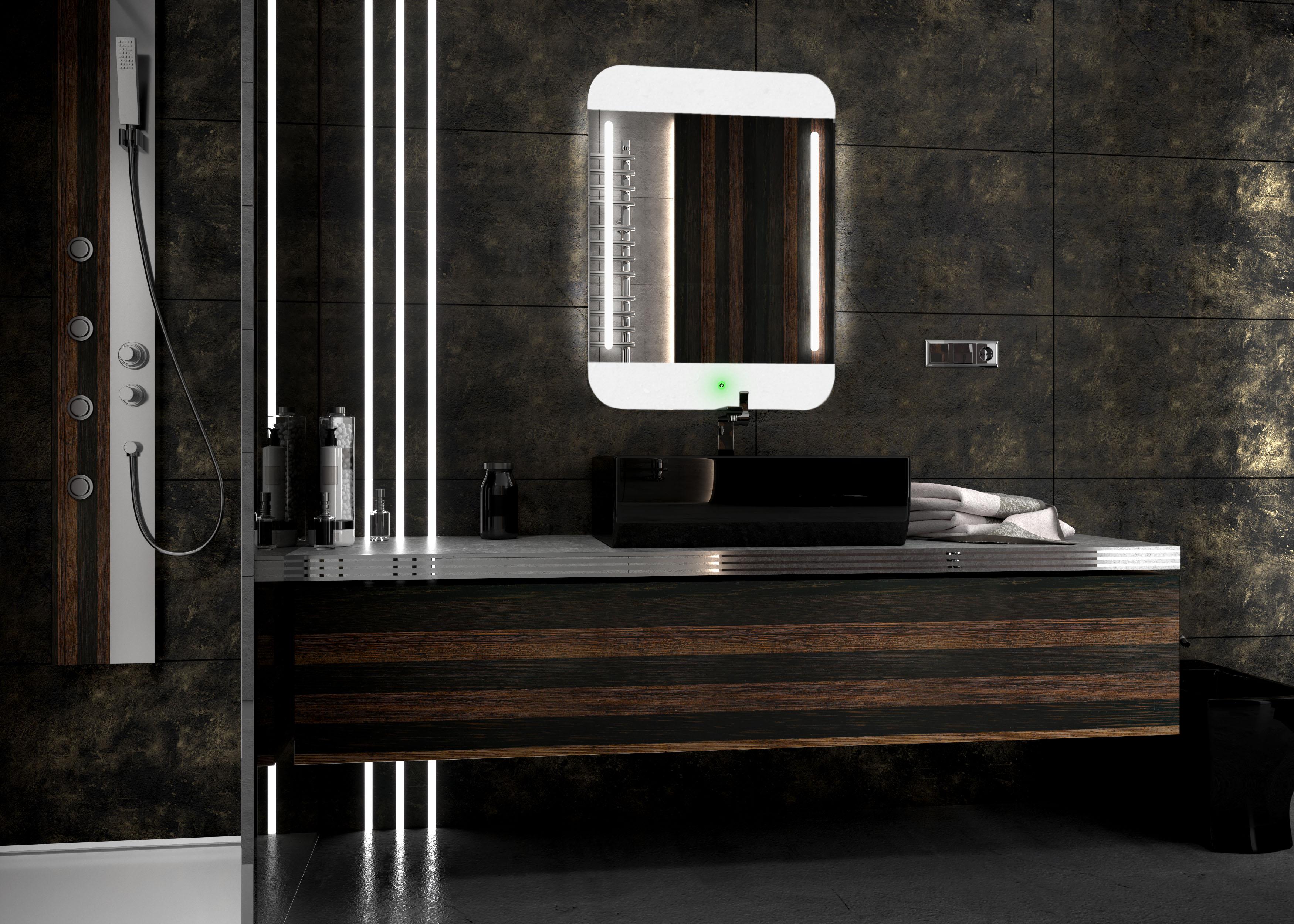 top ipad moderne led spiegel neu design badspiegel mit touchschalter ebay. Black Bedroom Furniture Sets. Home Design Ideas