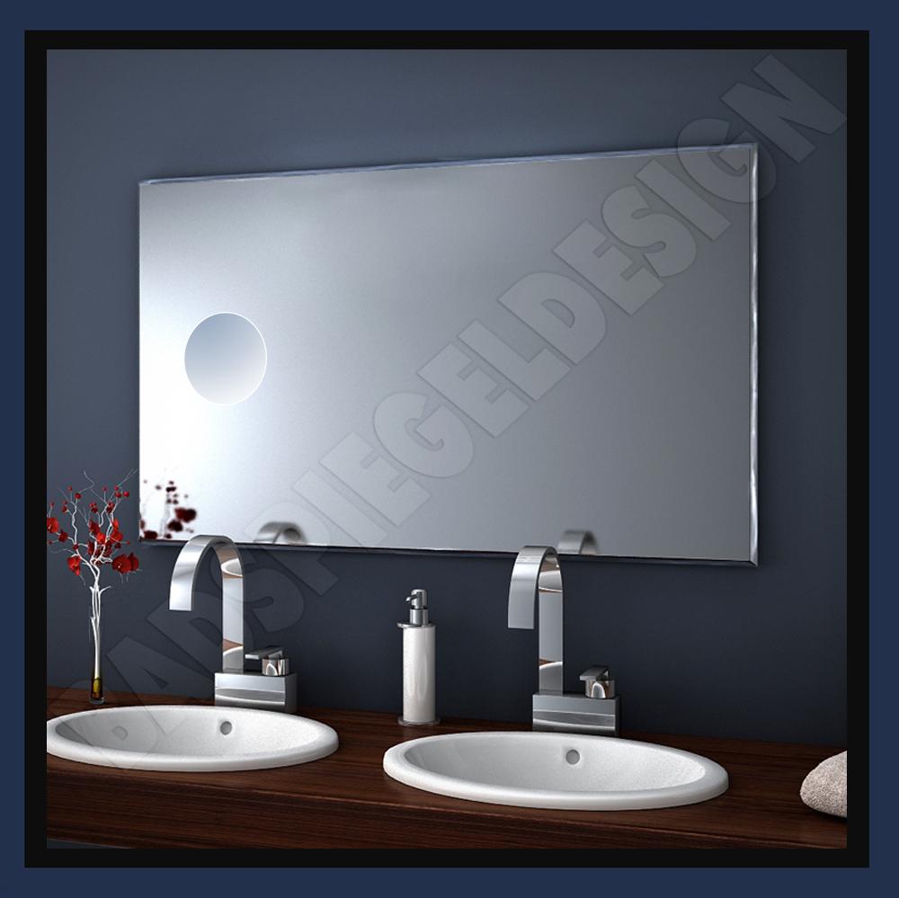 super neunheit spiegel mit makeupspiegel verschiedenen gr en zu w hlen ebay. Black Bedroom Furniture Sets. Home Design Ideas